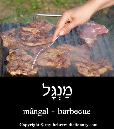 Barbecue in Hebrew